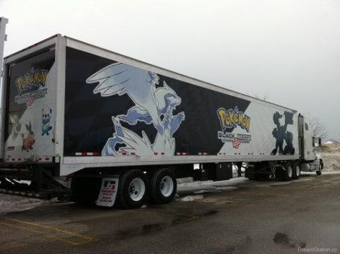 Pokemon semi truck