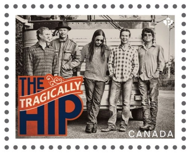 The Tragically Hip post stamps