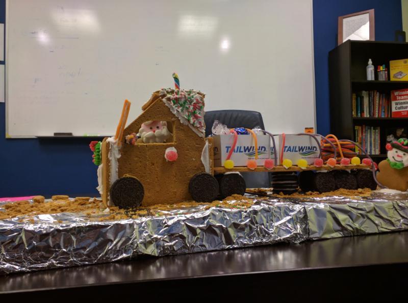 Gingerbread truck