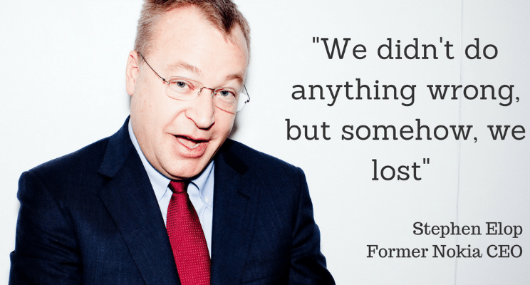Stephen Elop quote
