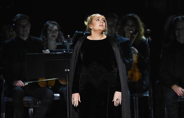 Adele in concert
