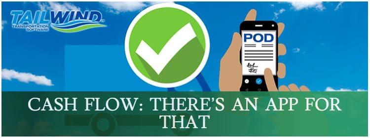 Tailwind TMS POD Cash flow app