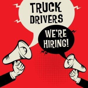 Truck Drivers - Were Hiring