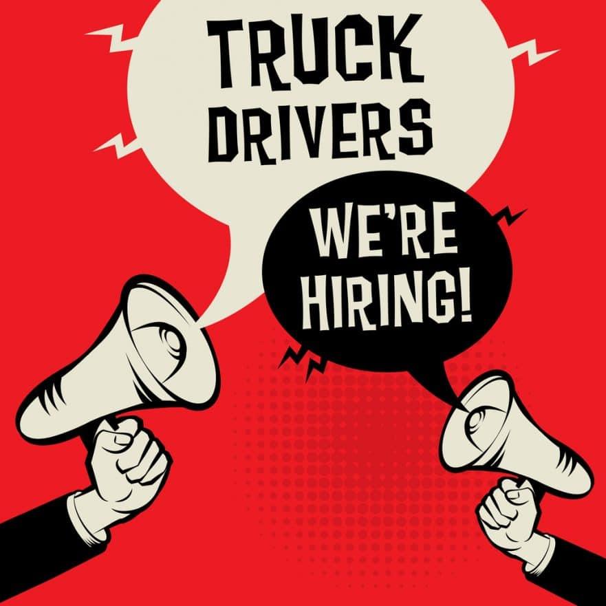 Truck Drivers - Were Hiring