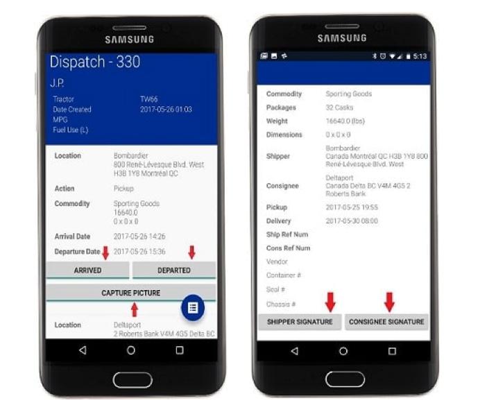 Tailwind POD-Complete mobile app